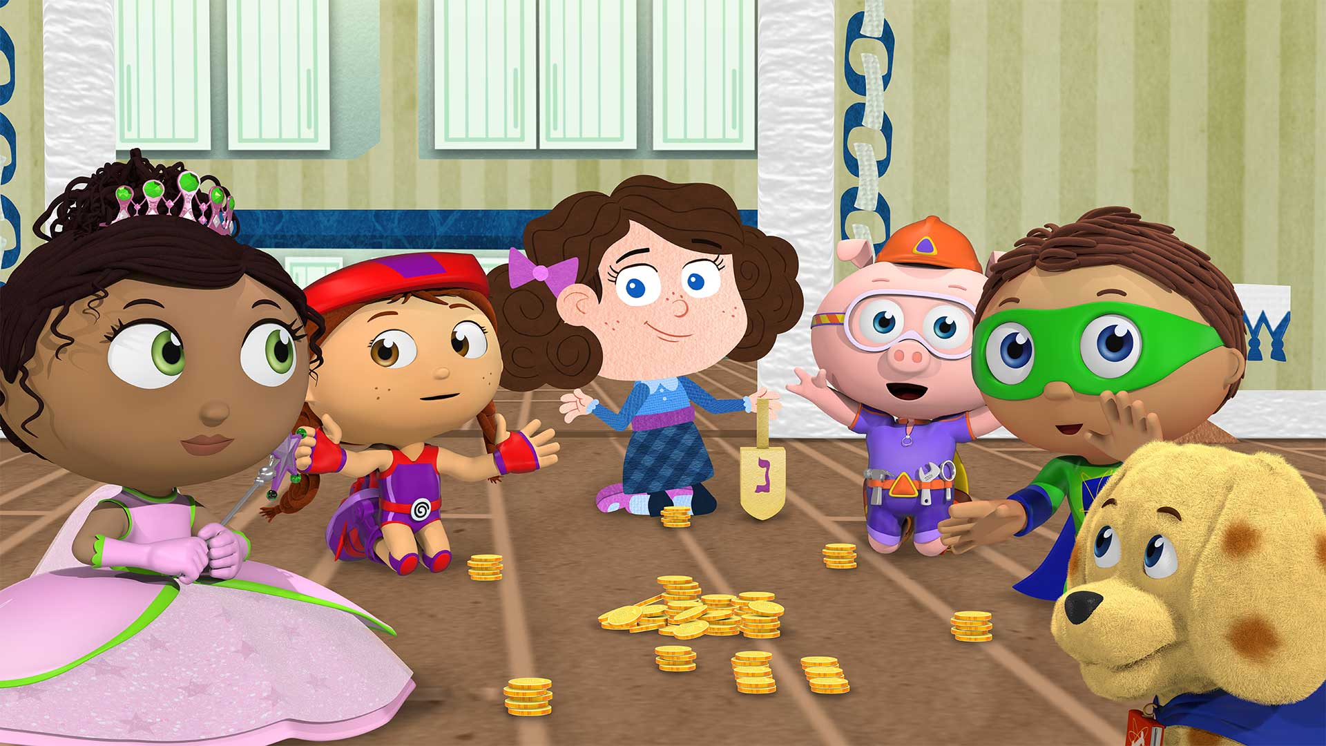 super why super reader hero
