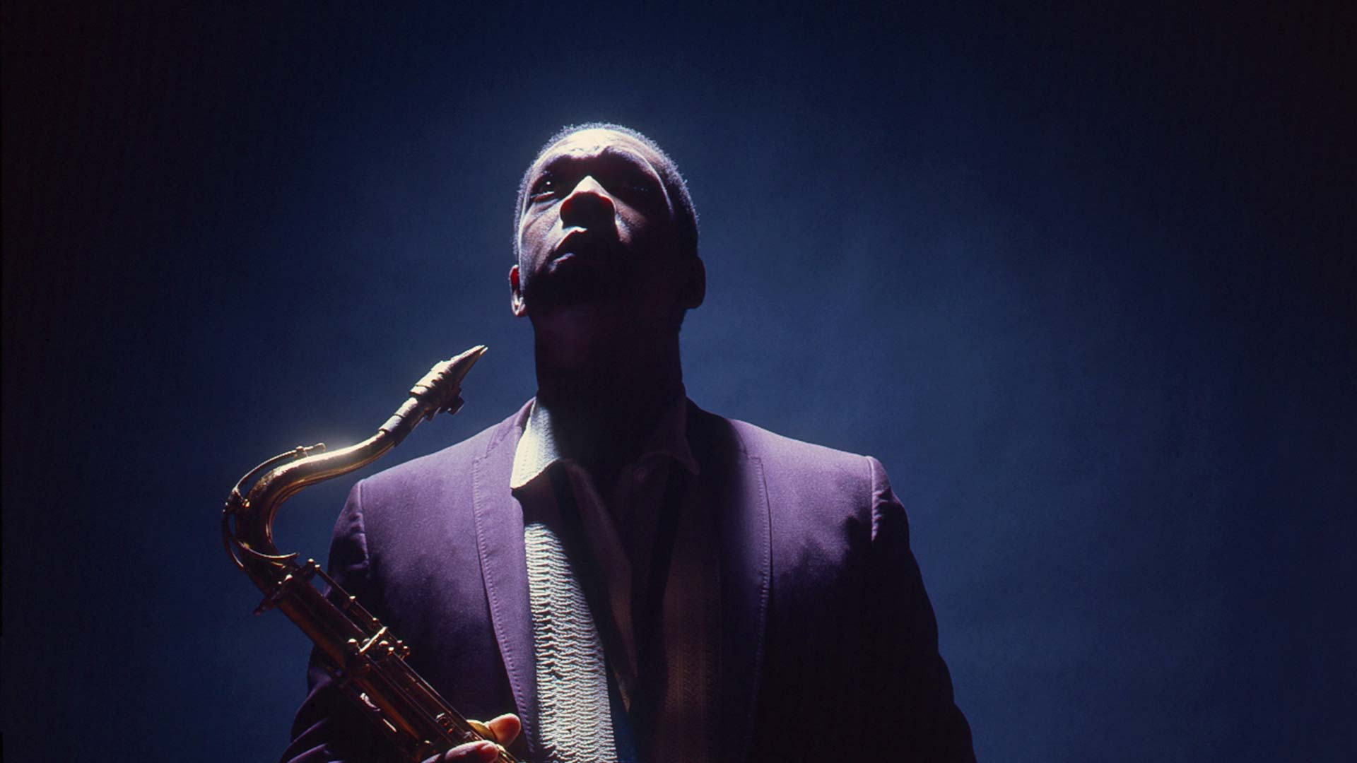 John Coltrane, the subject of John Scheinfeld's documentary Chasing Trane.