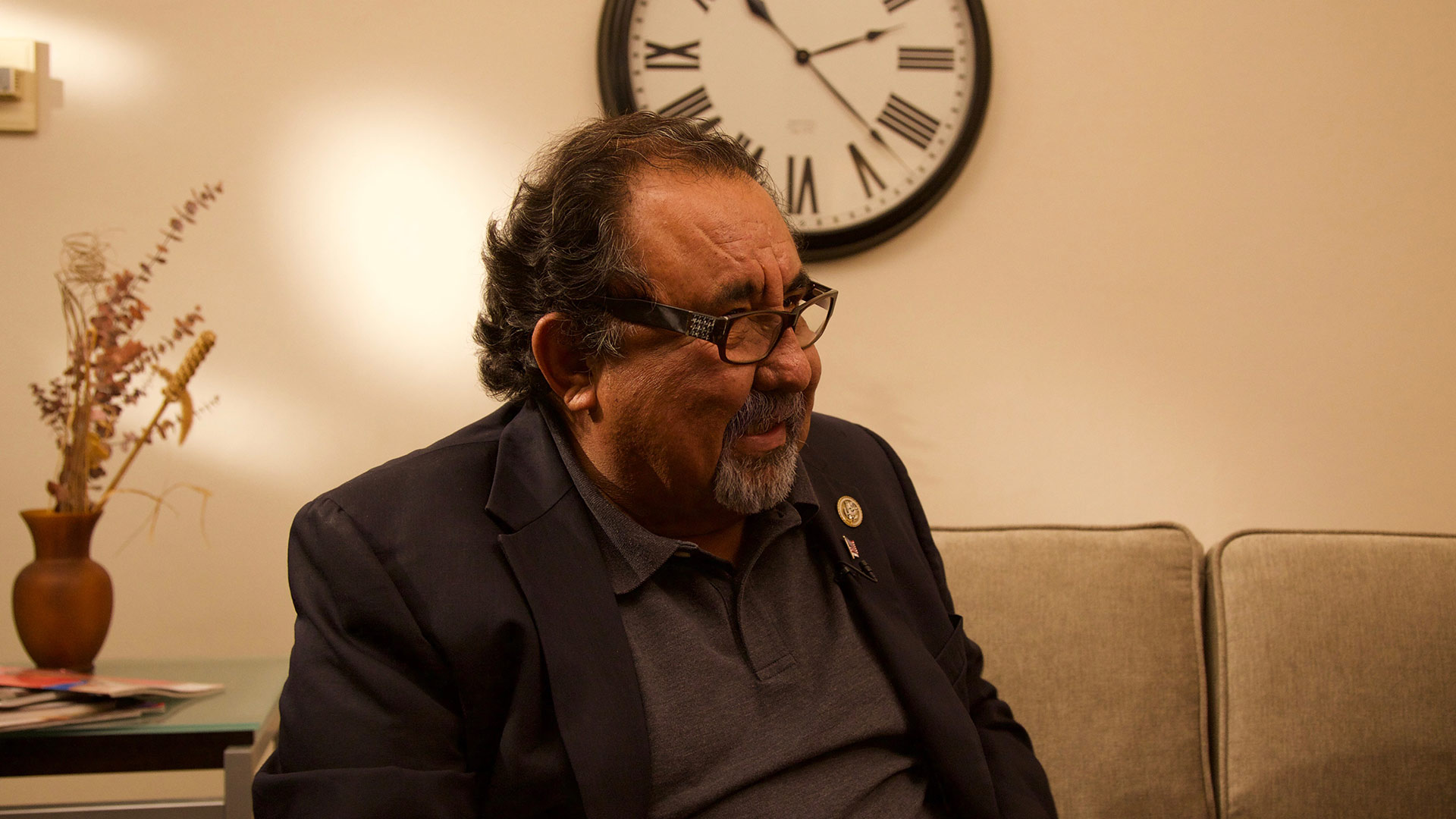 U.S. Rep. Raúl Grijalva, in the AZPM studios Nov. 20, 2017.