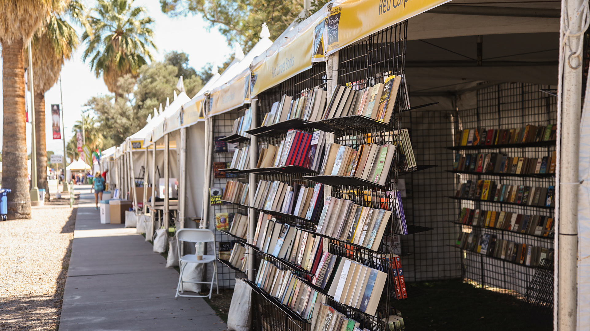 Tucson Festival of Books TFOB stalls hero
