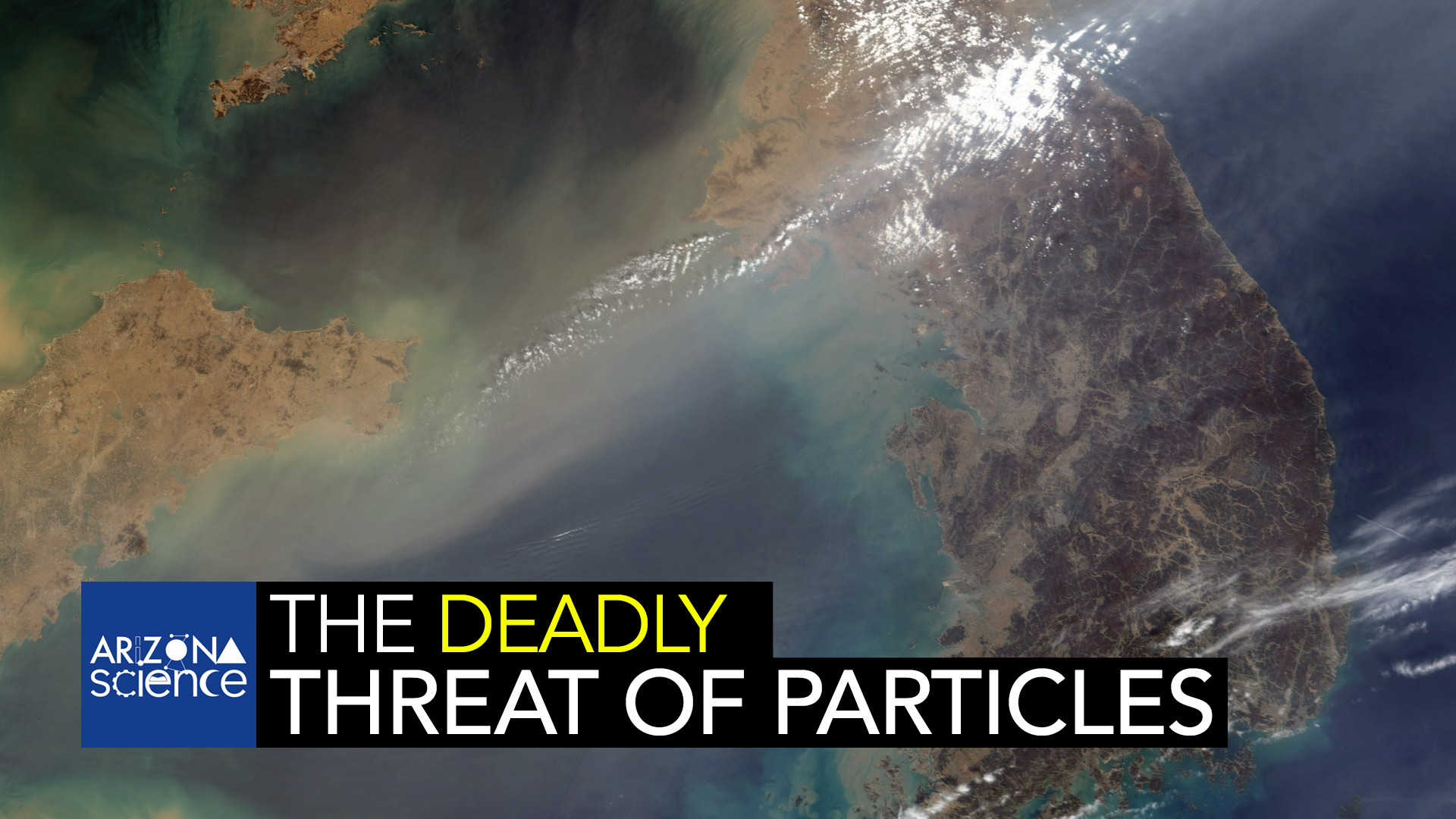 Particles such as those seen on the wind in this image are called aerosols. These small airborne particles can have a huge impact on the environment, threatening a range of things from human health to global climate.