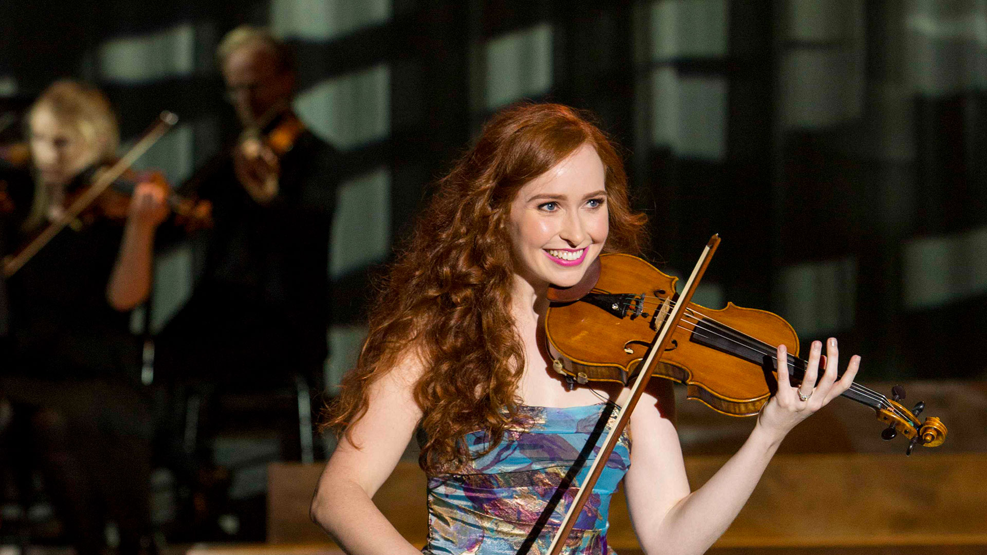 Celtic Woman's newest member, violinist Tara McNeill.