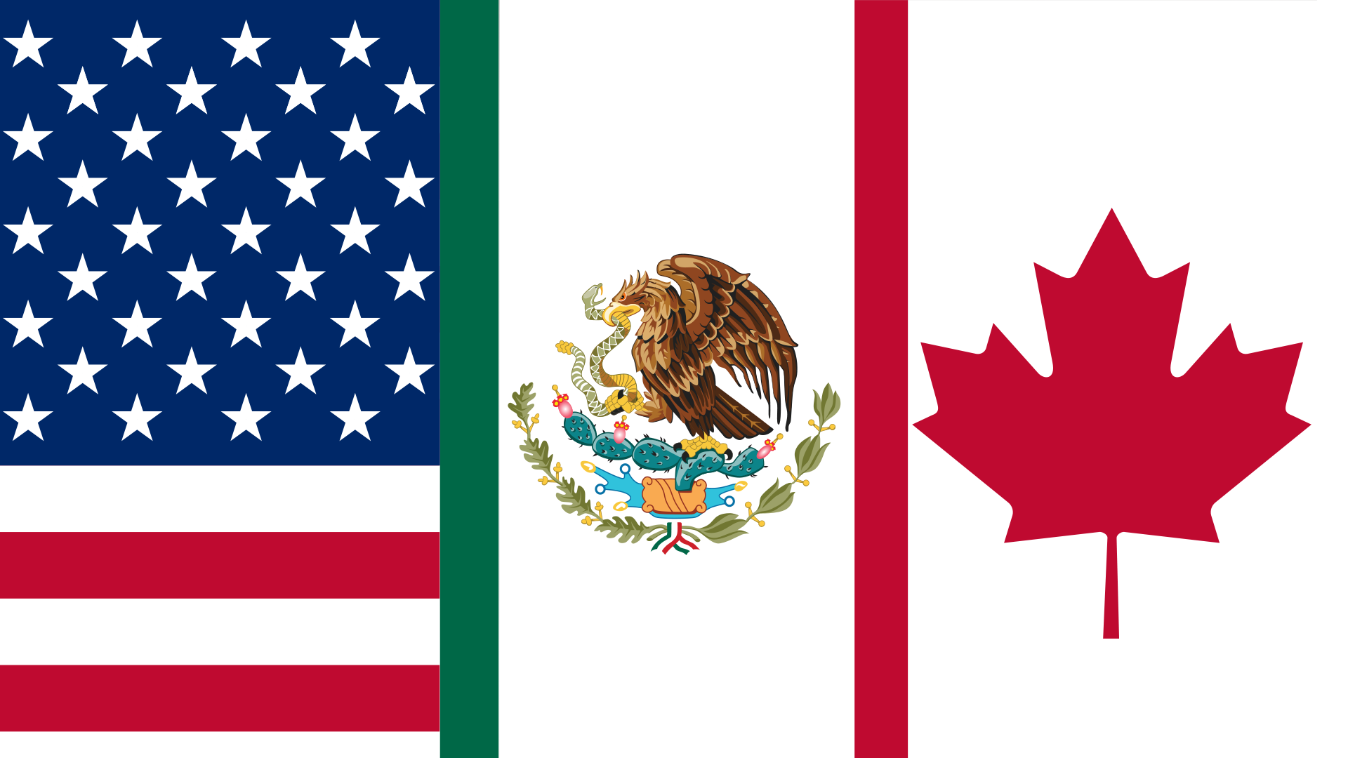 Flag of the North American Free Trade Agreement