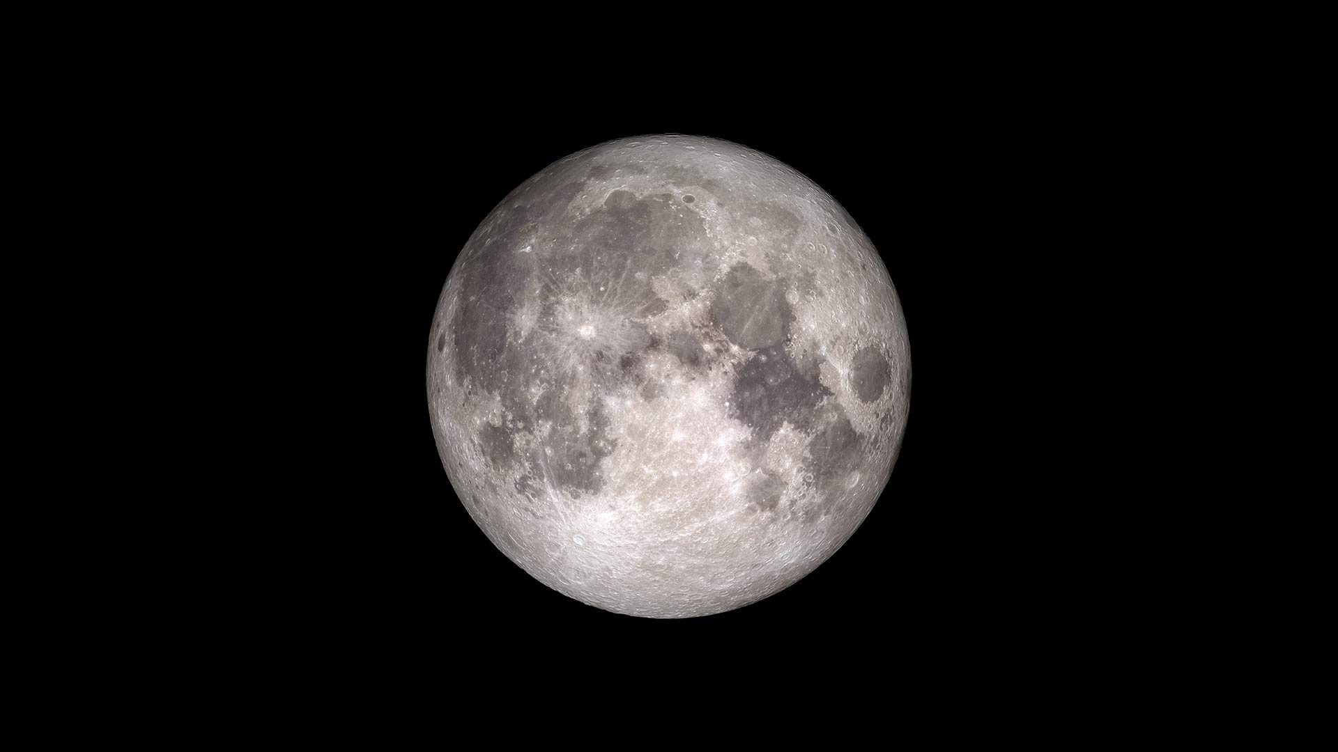 Image of a full moon from NASA.