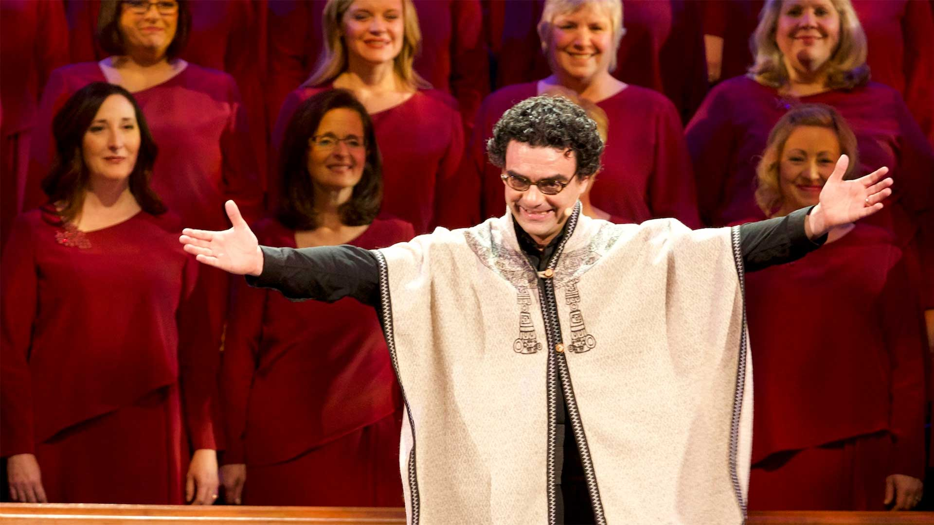 "Rolando Villazón, renowned operatic tenor, performs and narrates the Christmas Story, as recorded in Luke 2 of the King James Bible, and a retelling of the Hans Christian Andersen story, ""The Little Match Girl."""