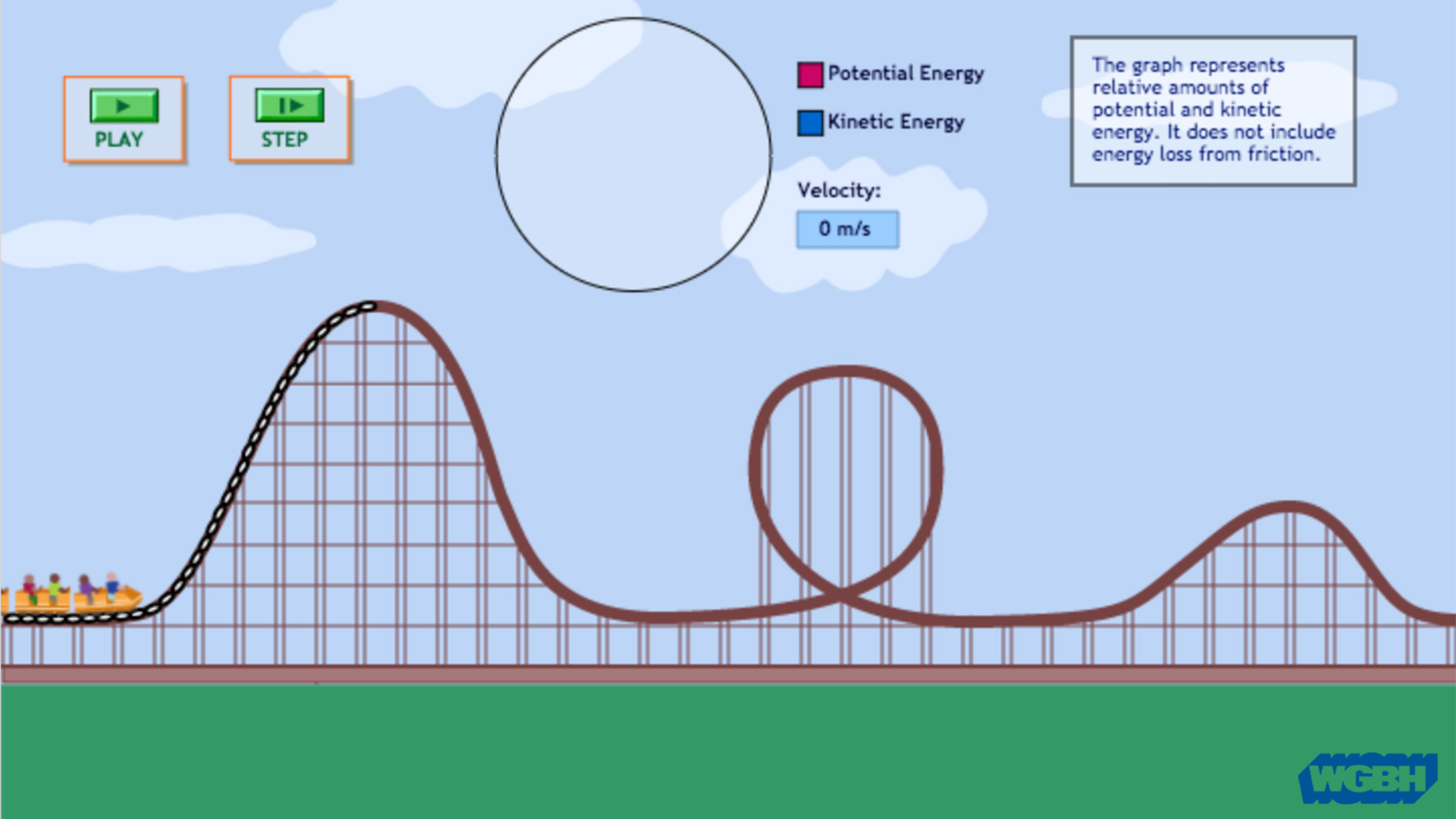 energy in a roller coaster ride azpm rh about azpm org roller coaster diagram potential kinetic energy roller coaster energy diagram