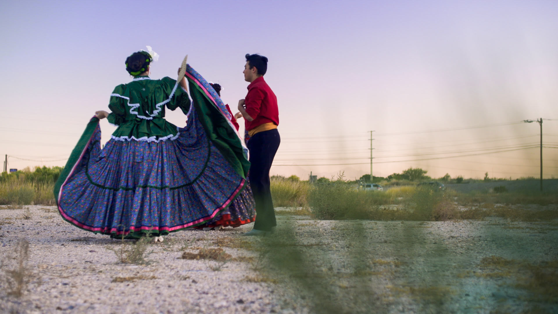 Foklórico dancers in Tucson, Arizona, 2017.