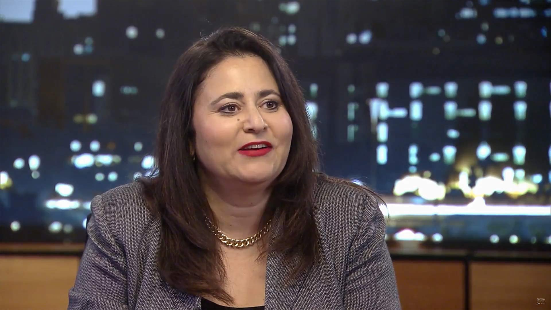 Lea Marquez Peterson, president of the Tucson Hispanic Chamber of Commerce, November 2017.