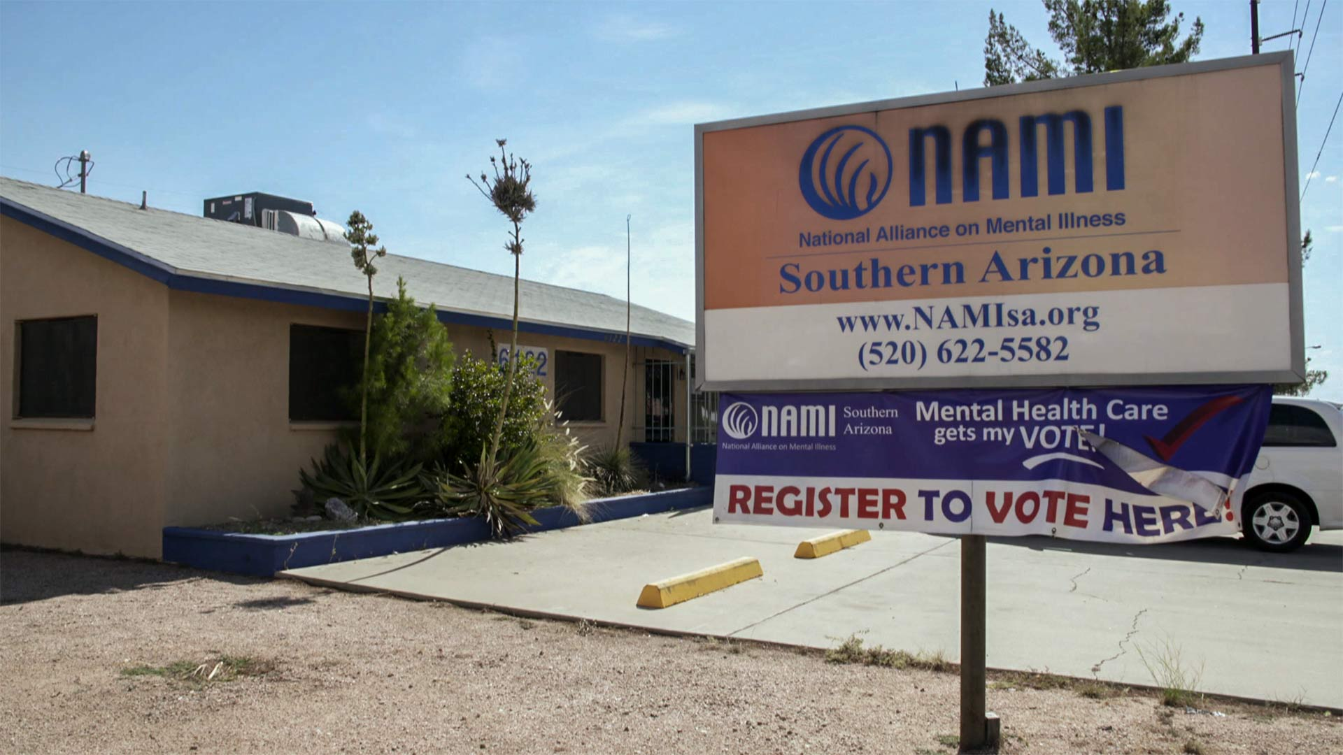 The Southern Arizona chapter of the National Alliance on Mental Health (NAMI).
