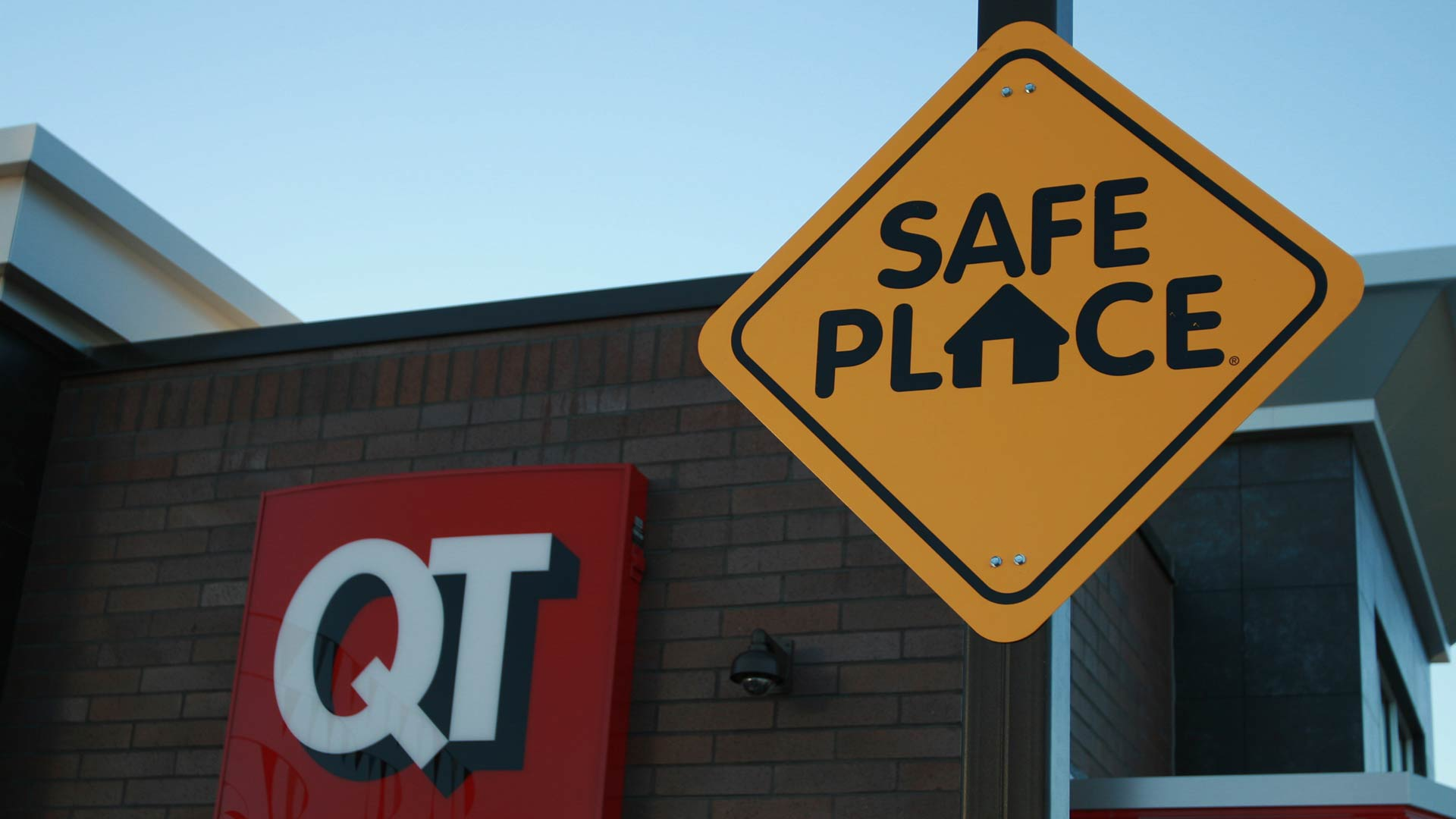 QuikTrip Safe Place hero