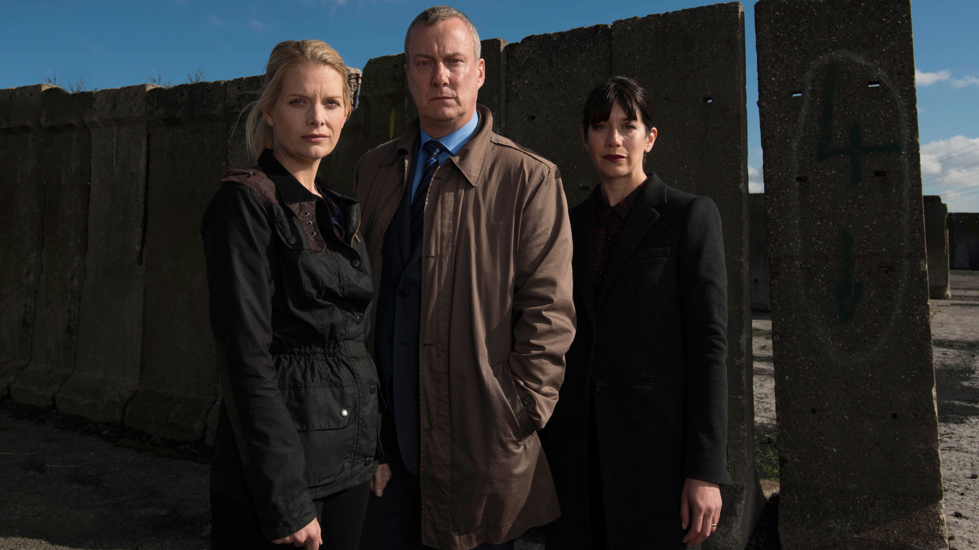 The cast of DCI Banks.