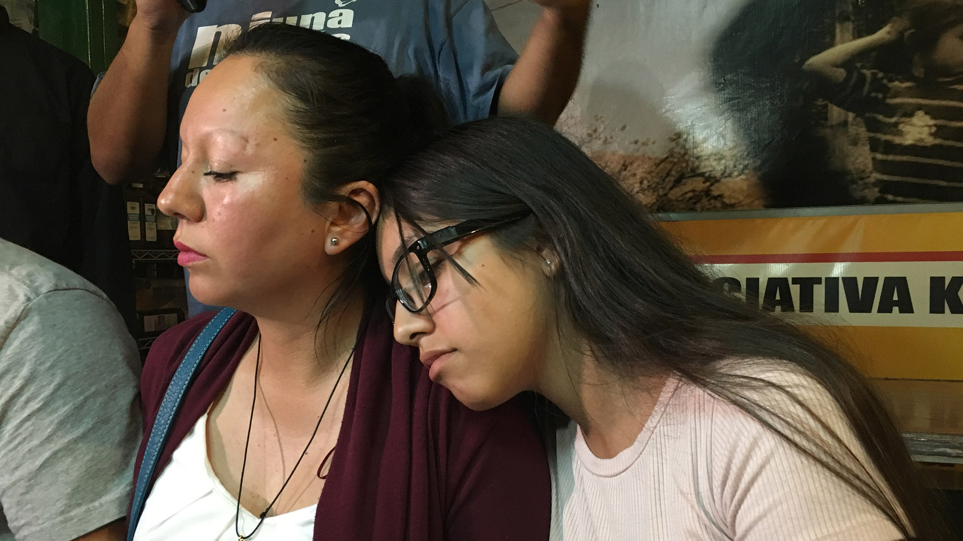 The family of Guadalupe García de Rayos spoke about their ordeal following her deportation at the Kino Border Initiative in Nogales, Sonora, Thursday, Feb. 9, 2017.