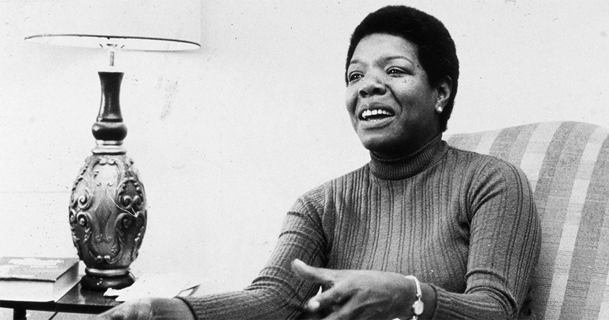 "Dr. Maya Angelou is best known for her best-selling autobiography ""I Know Why the Caged Bird Sings"" (Random House), photo taken November 3, 1971."