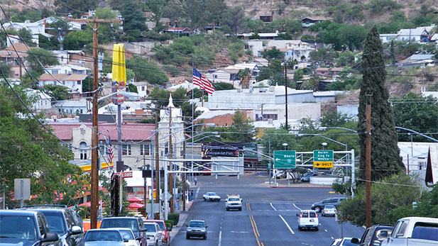 Crawford Street in Nogales.