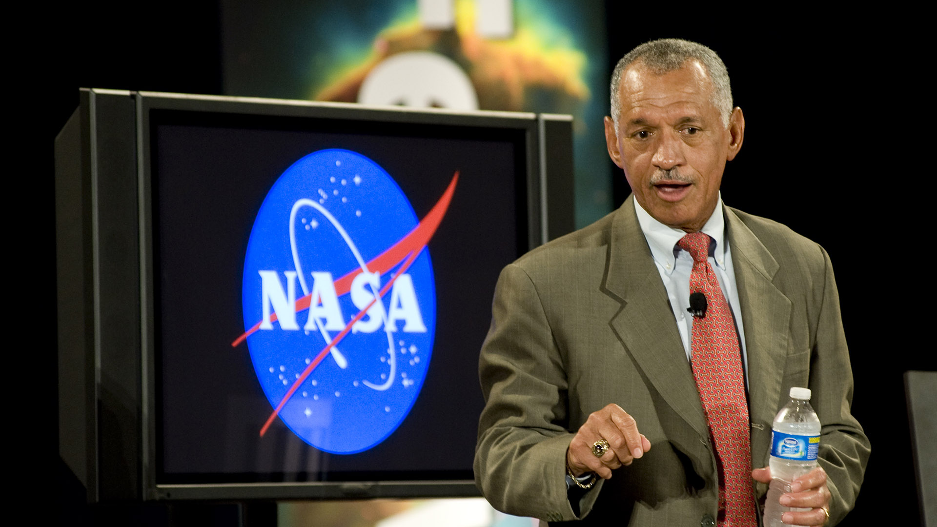 Retired Marine General Charles Bolden at the Goddard Space Flight Center in 2010, when he was administrator of NASA.