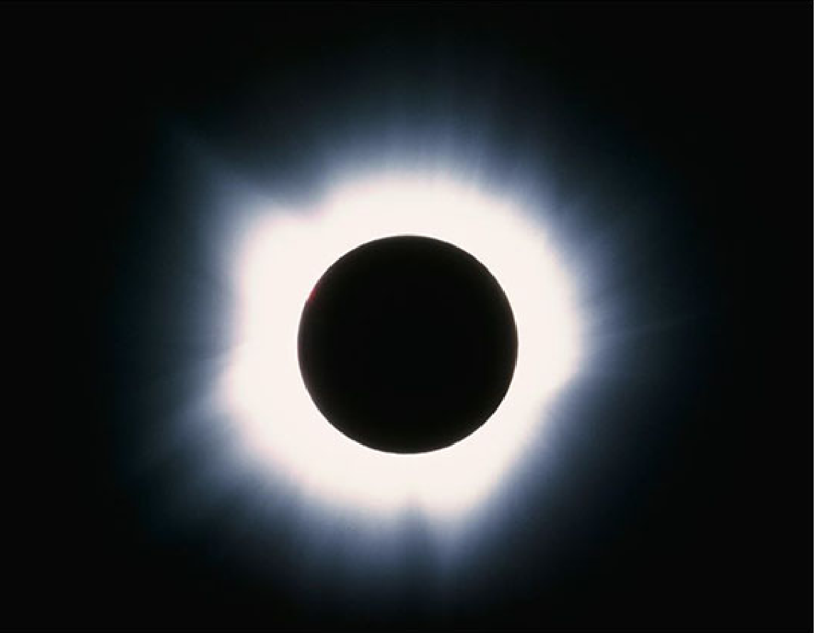 NASA camera captured this total solar eclipse.
