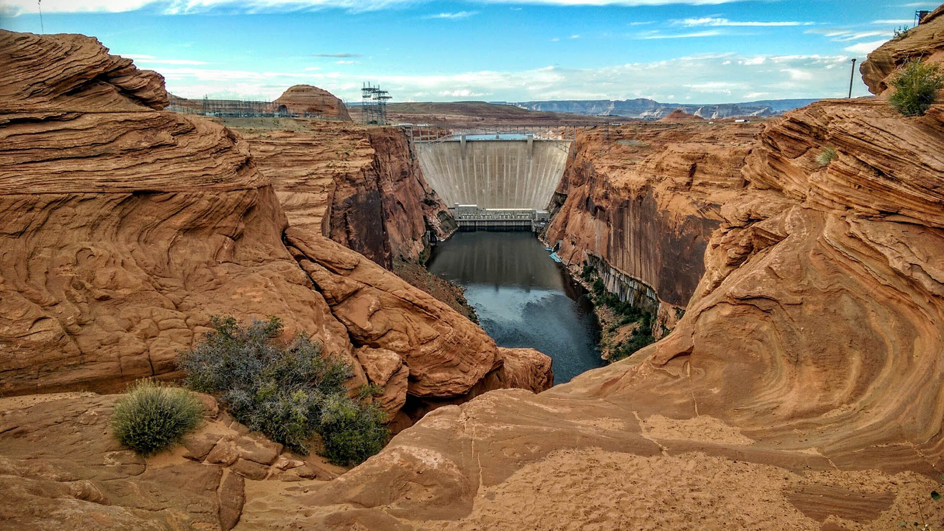 Glen Canyon Dam hero