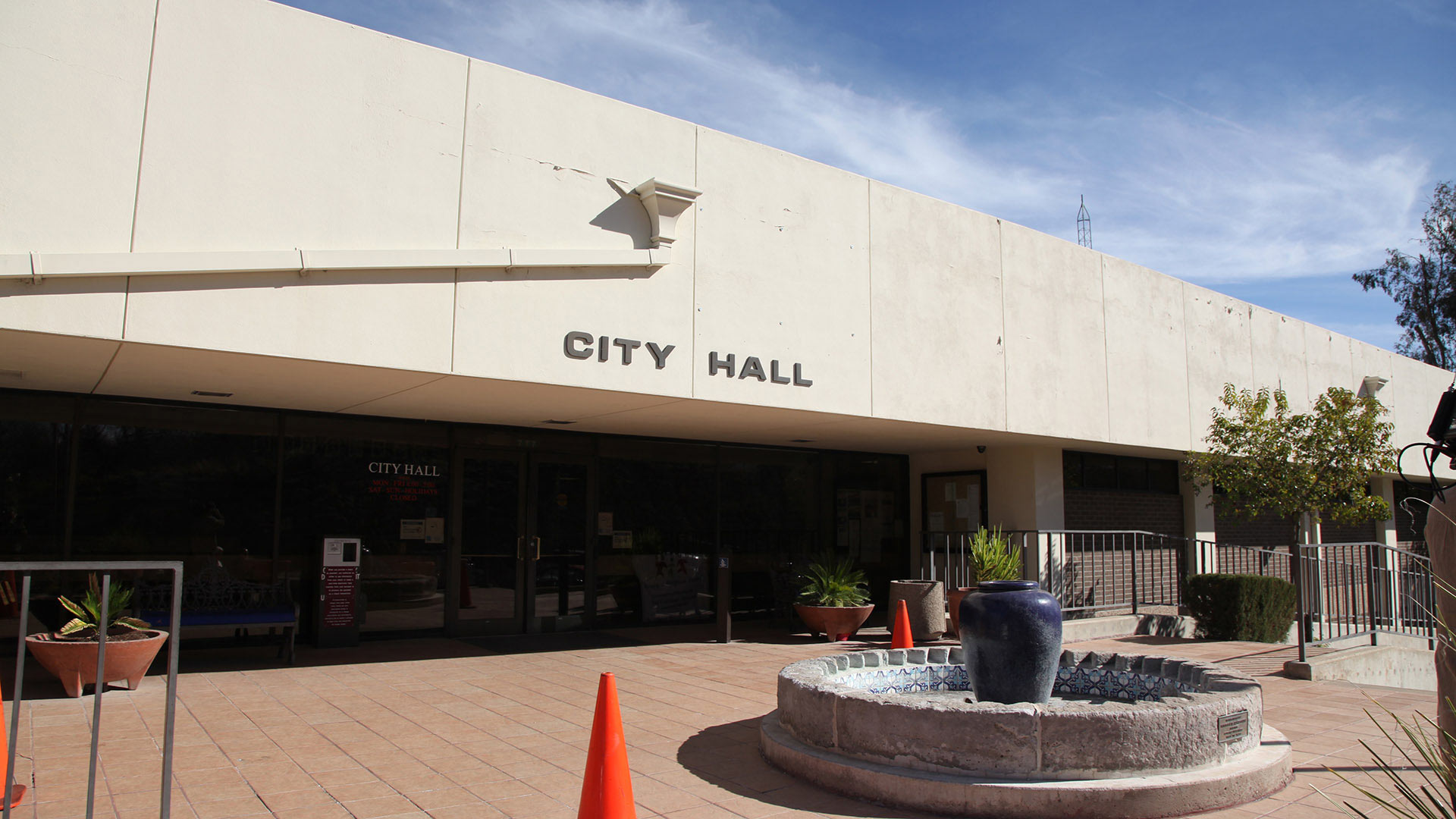 City Hall in Nogales, Arizona.