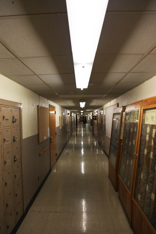 Vet Sci hallway