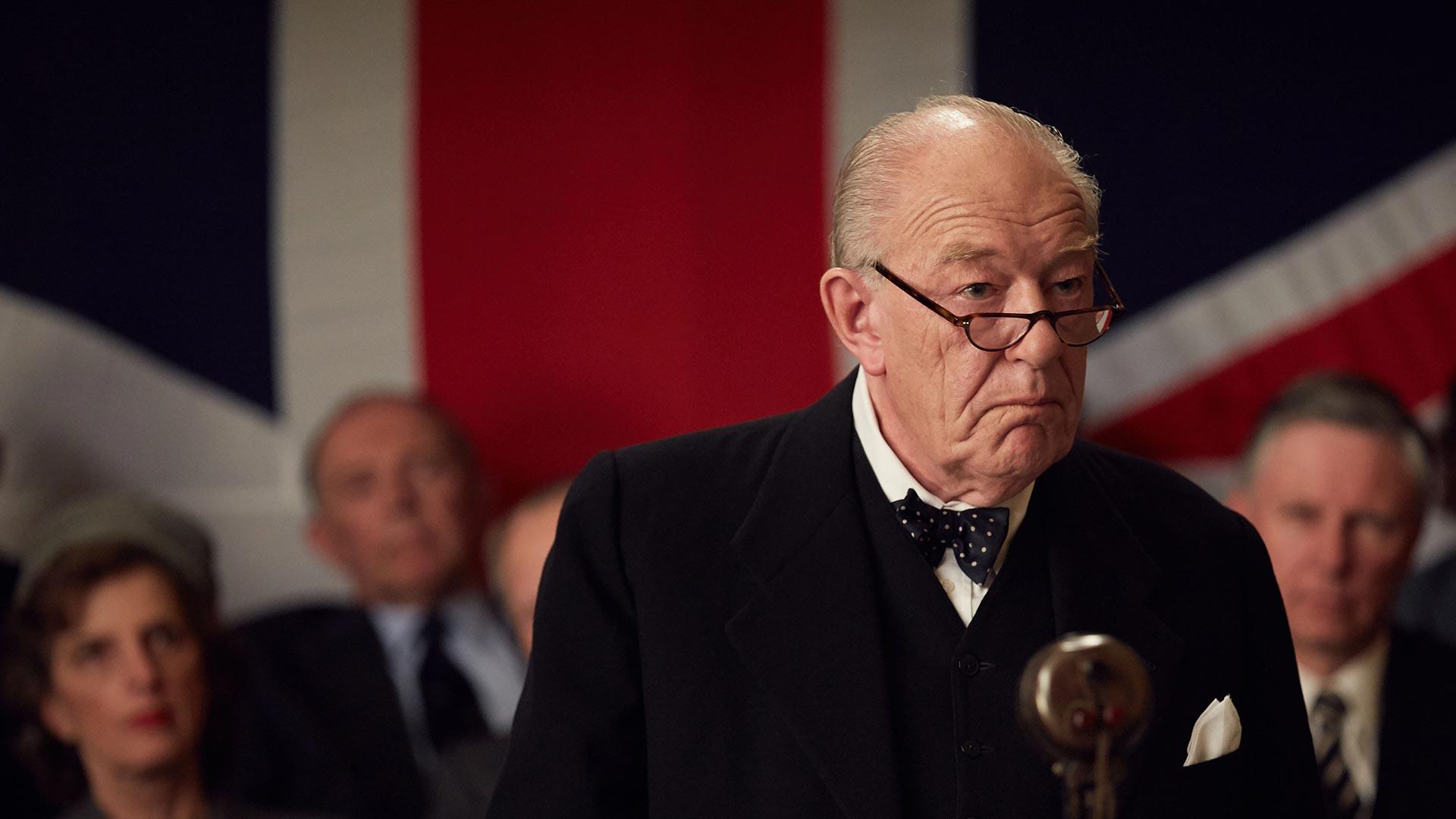 Michael Gambon as Winston Churchill