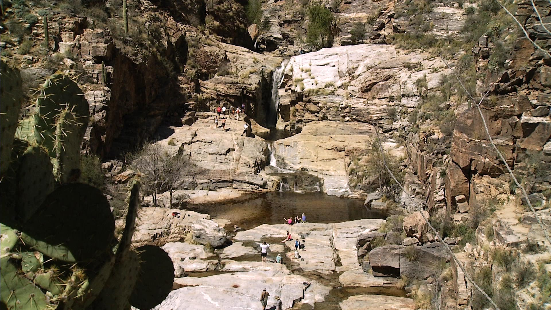 Seven Falls, Sabino Canyon hero