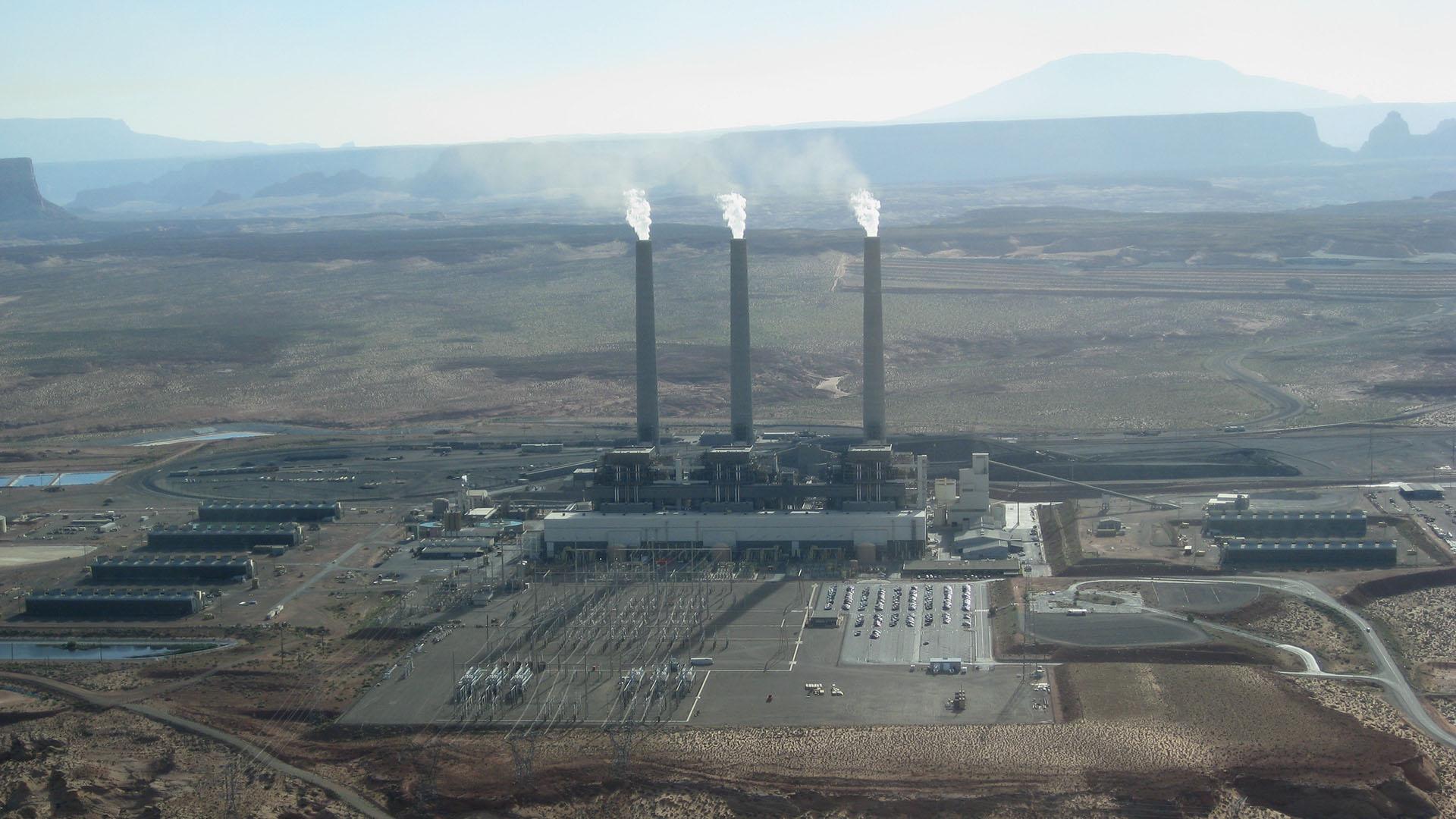 The Navajo Generating Station.