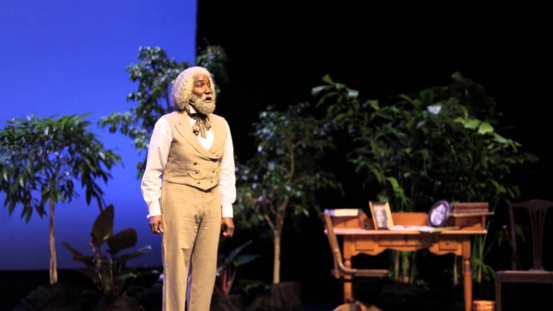 "Mel Johnson Jr. portrays an American legend in ""Frederick Douglass: In the Shadow of Slavery""."