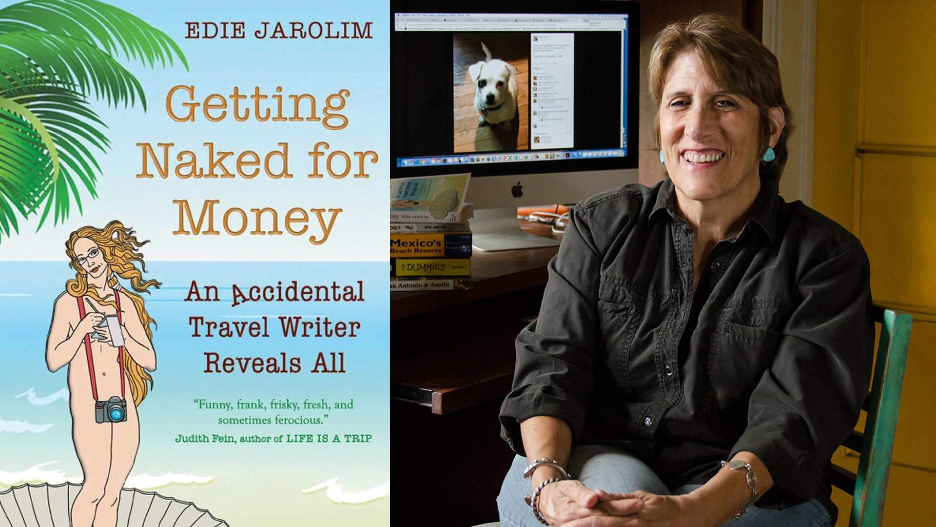 author edie jarolim hero