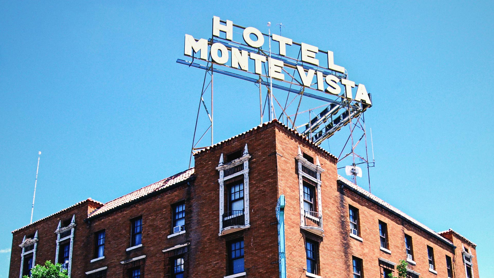 The Hotel Monte Vista in downtown Flagstaff, Arizona.