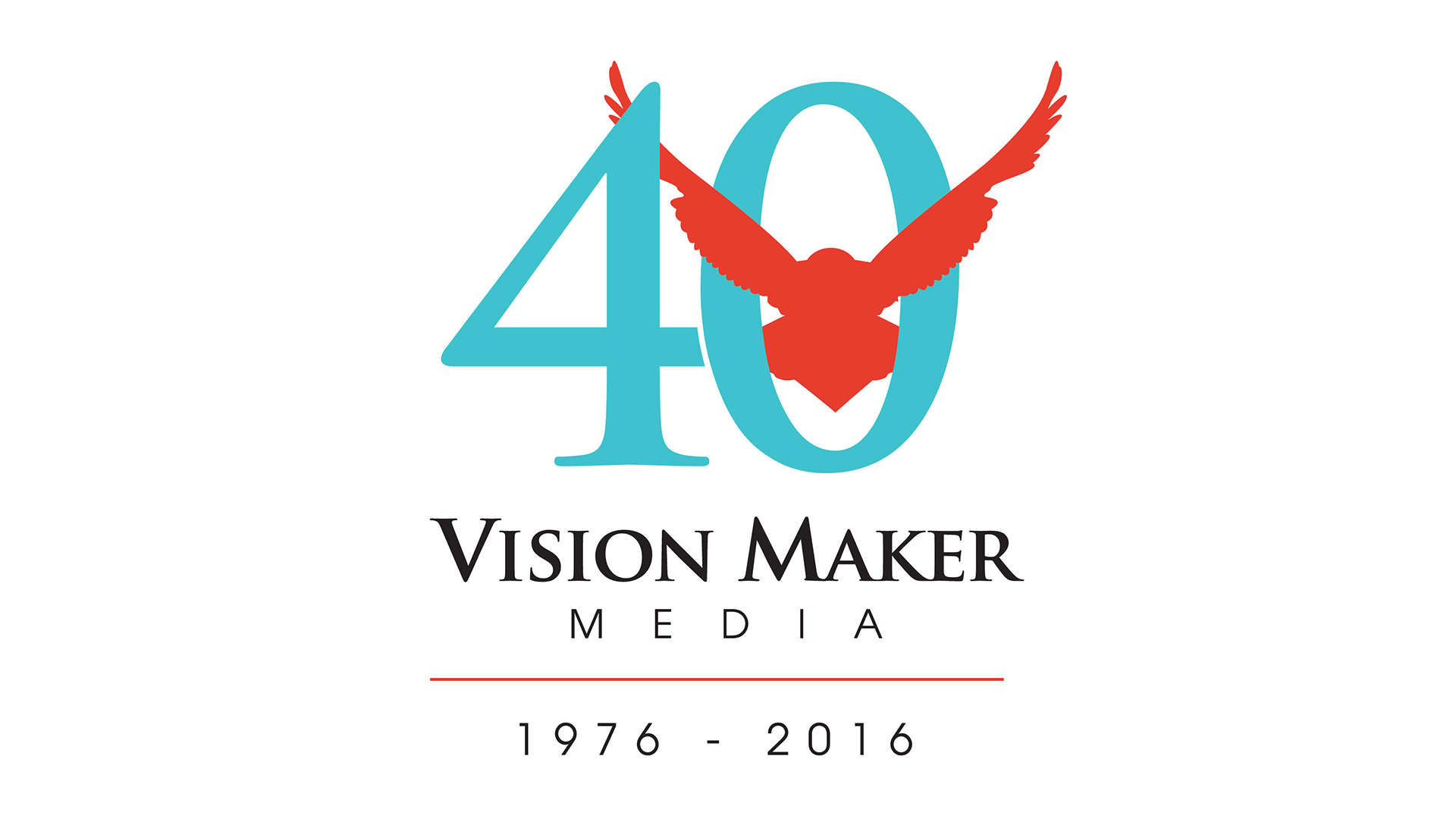 The logo for Vision Maker Media.
