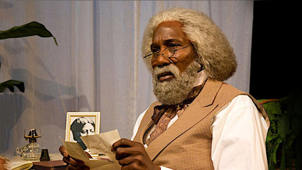 mel johnson as frederick douglass spotlight