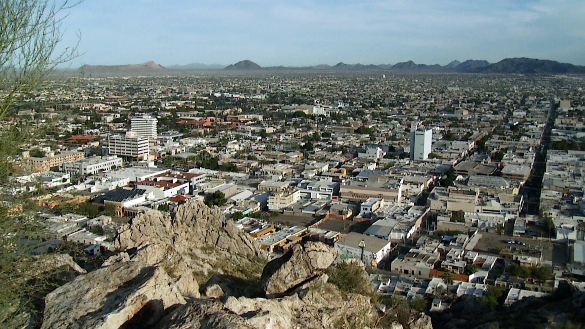 Hermosillo cityscape hero