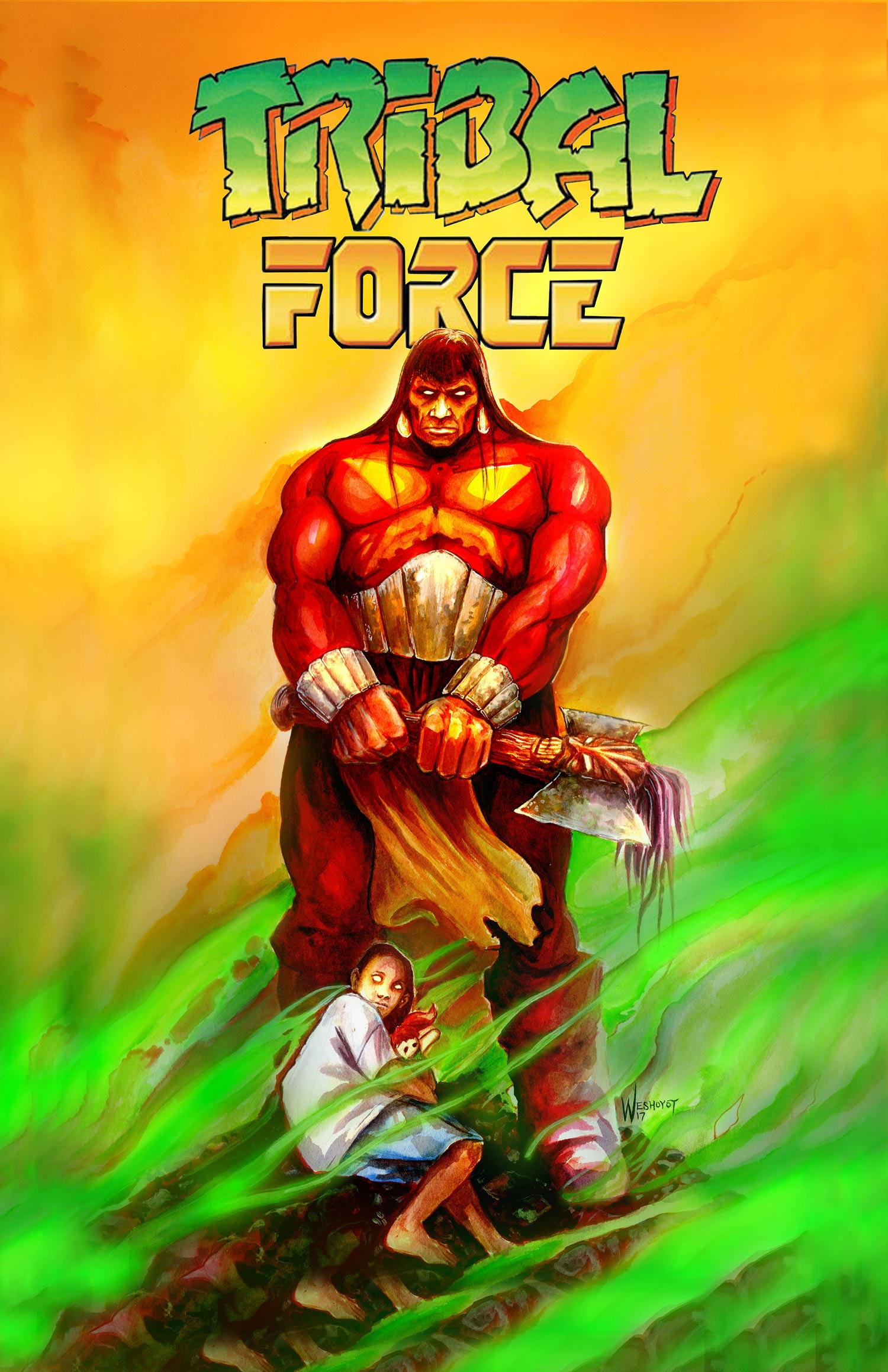 Tribal force cover