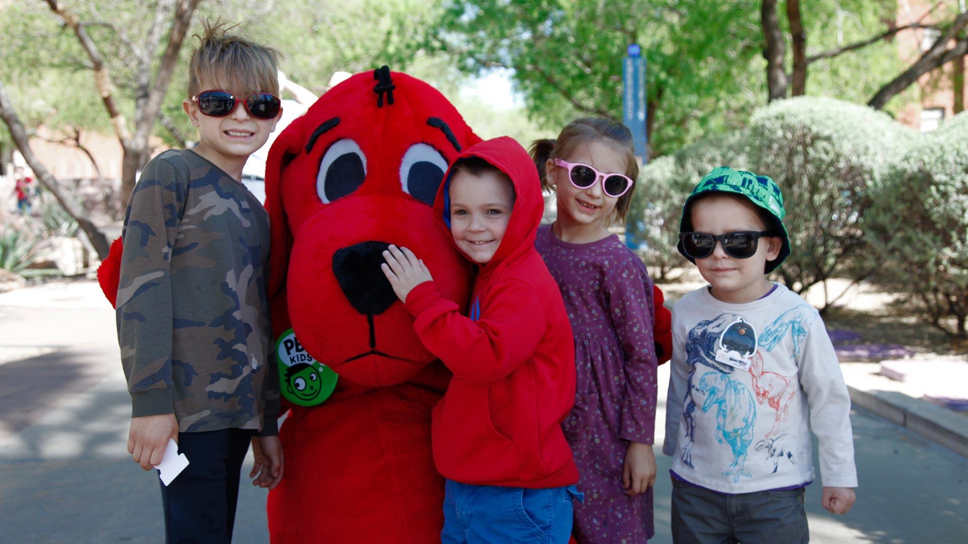 Tucson Festival of Books Clifford hero