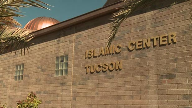 Islamic Center Tucson sign spot