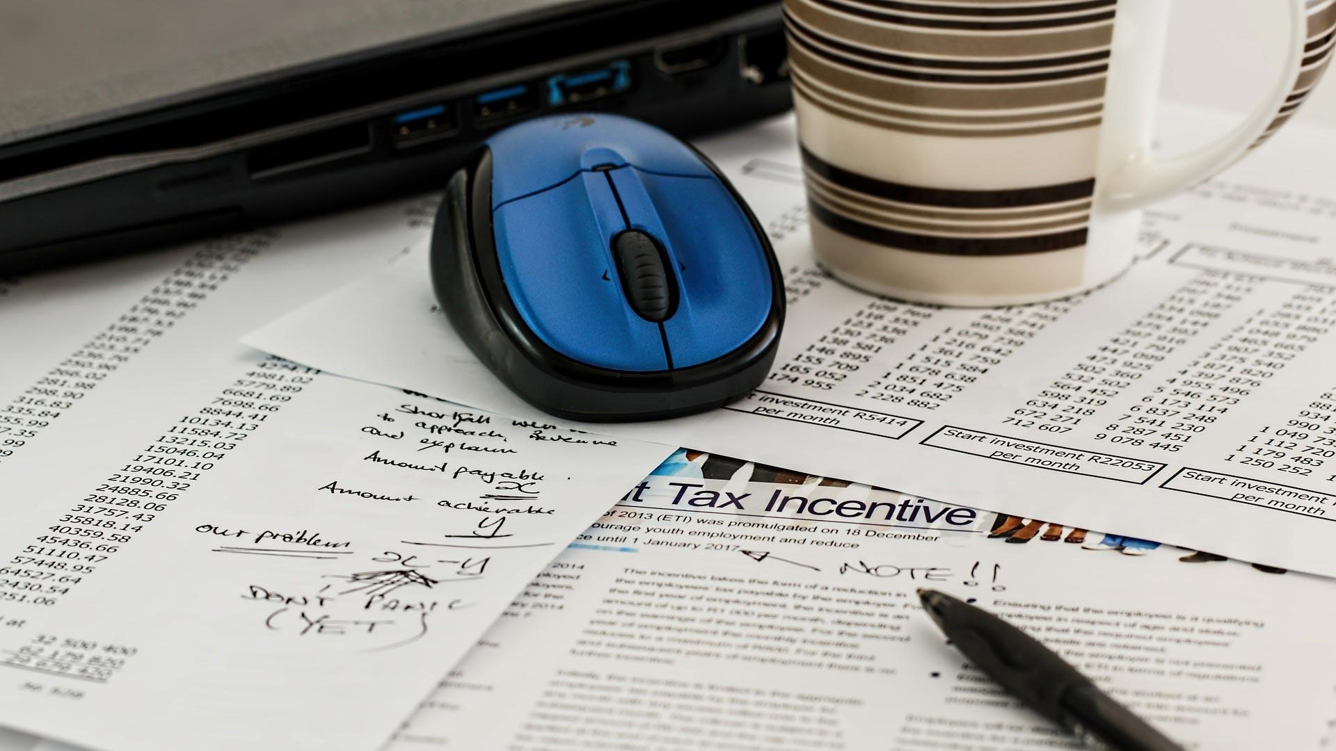 Taxes, computer