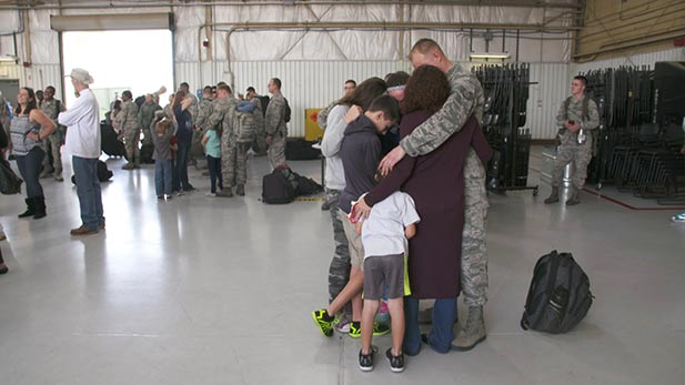 A Tucson family stationed at Davis-Monthan Air Force Base prepares for deployment.