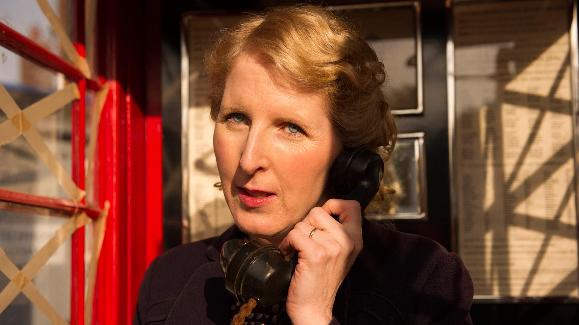 Shown: Fenella Woolgar as Alison Scotlock