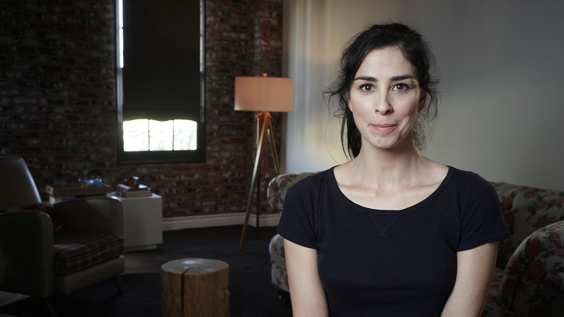 Sarah Silverman interviewed in The Last Laugh.