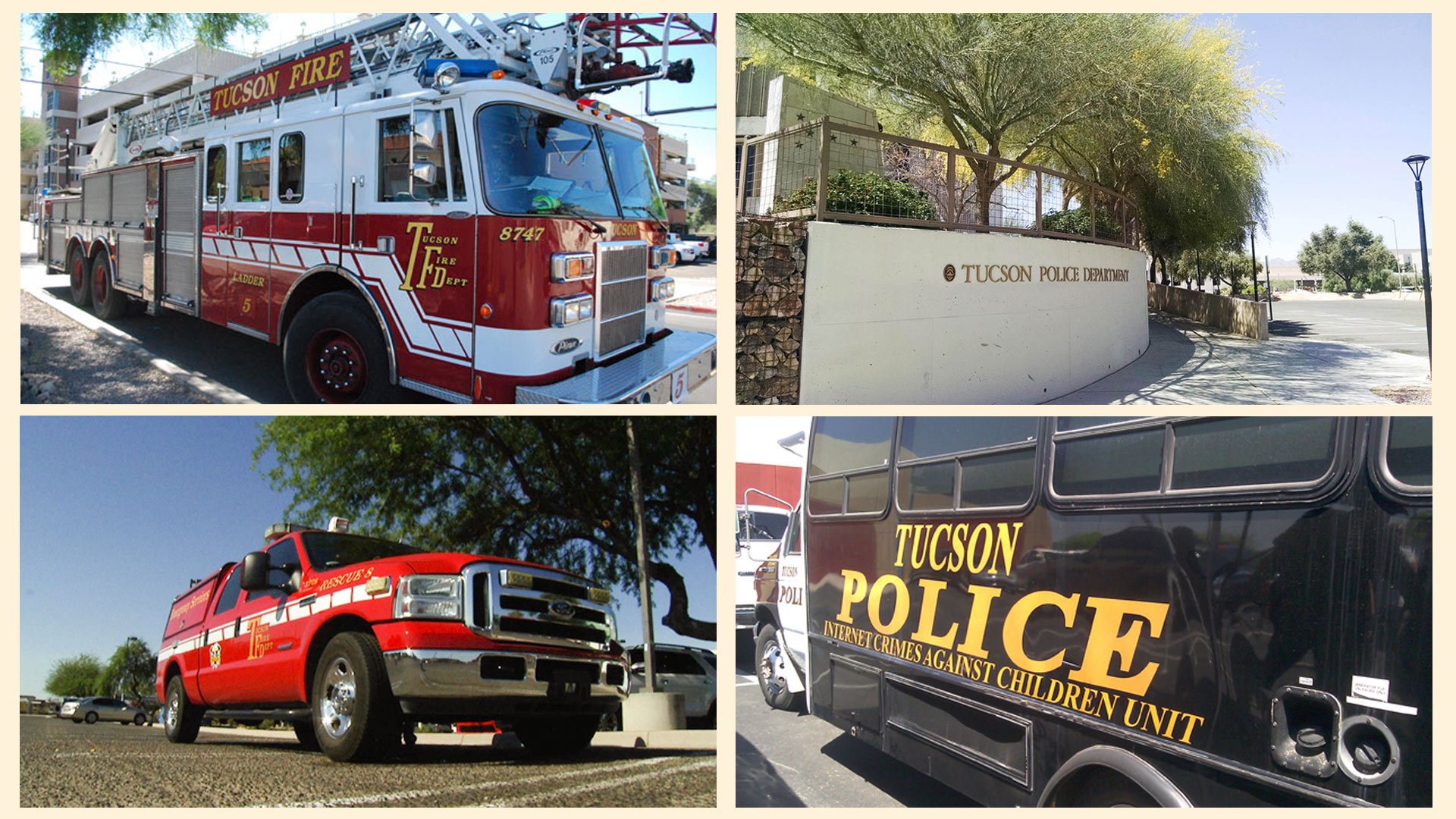 Money from the proposed sales tax would feed the budgets of Tucson police and fire departments.