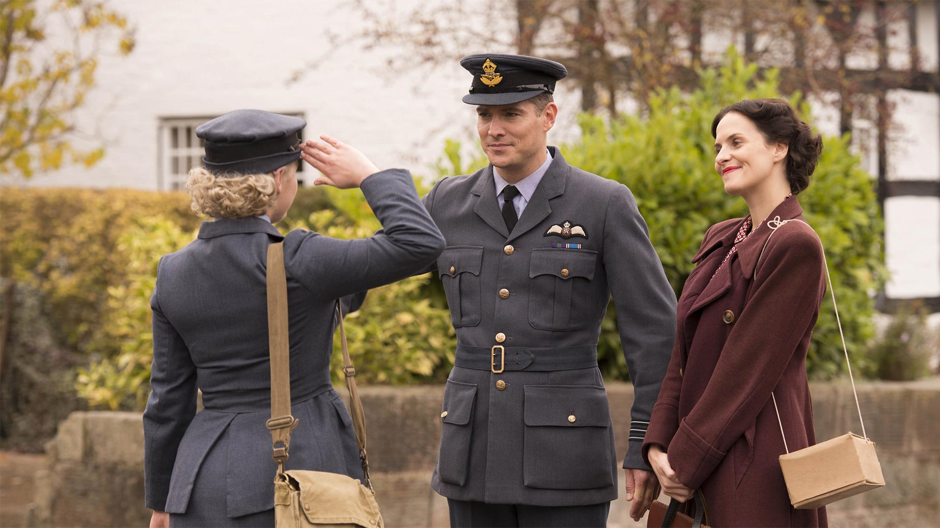 Shown from left to right: Mark Umbers as Nick Lucas and Leanne Best as Teresa Fenchurch