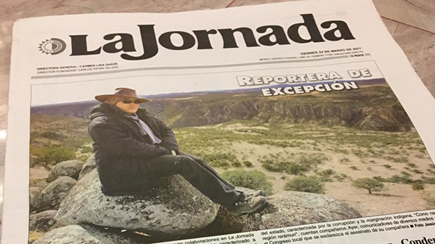 Miroslava Breach, a correspondent for the national Mexican newspaper La Jornada, was gunned down outside her home in Mexico's northern state of Chihuahua, authorities said. Breach had written extensively about drug trafficking and corruption in the state.