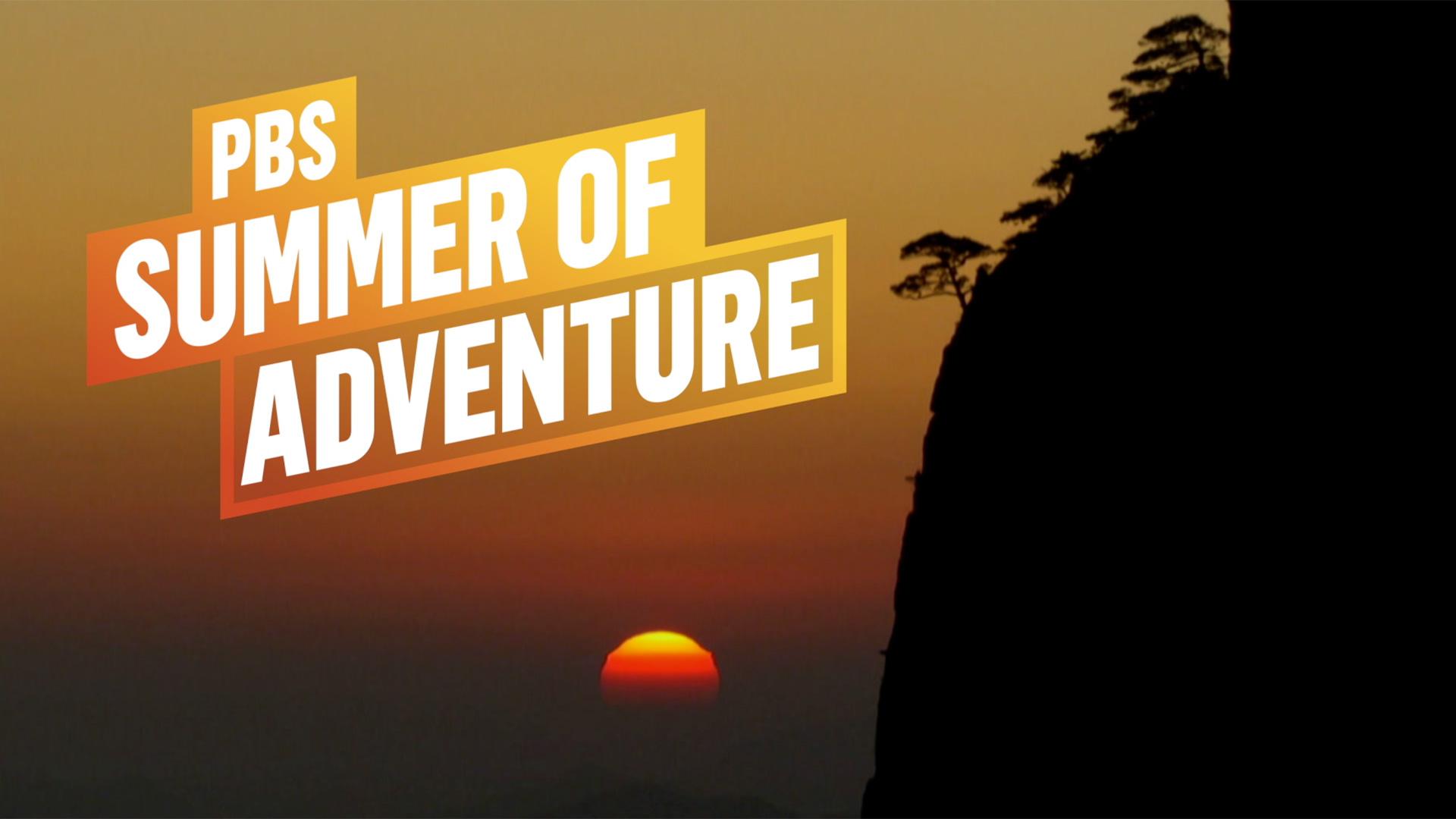 Summer of Adventure sunset hero