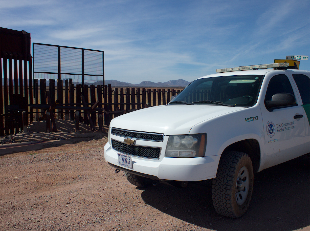 Wall ends border patrol unsized