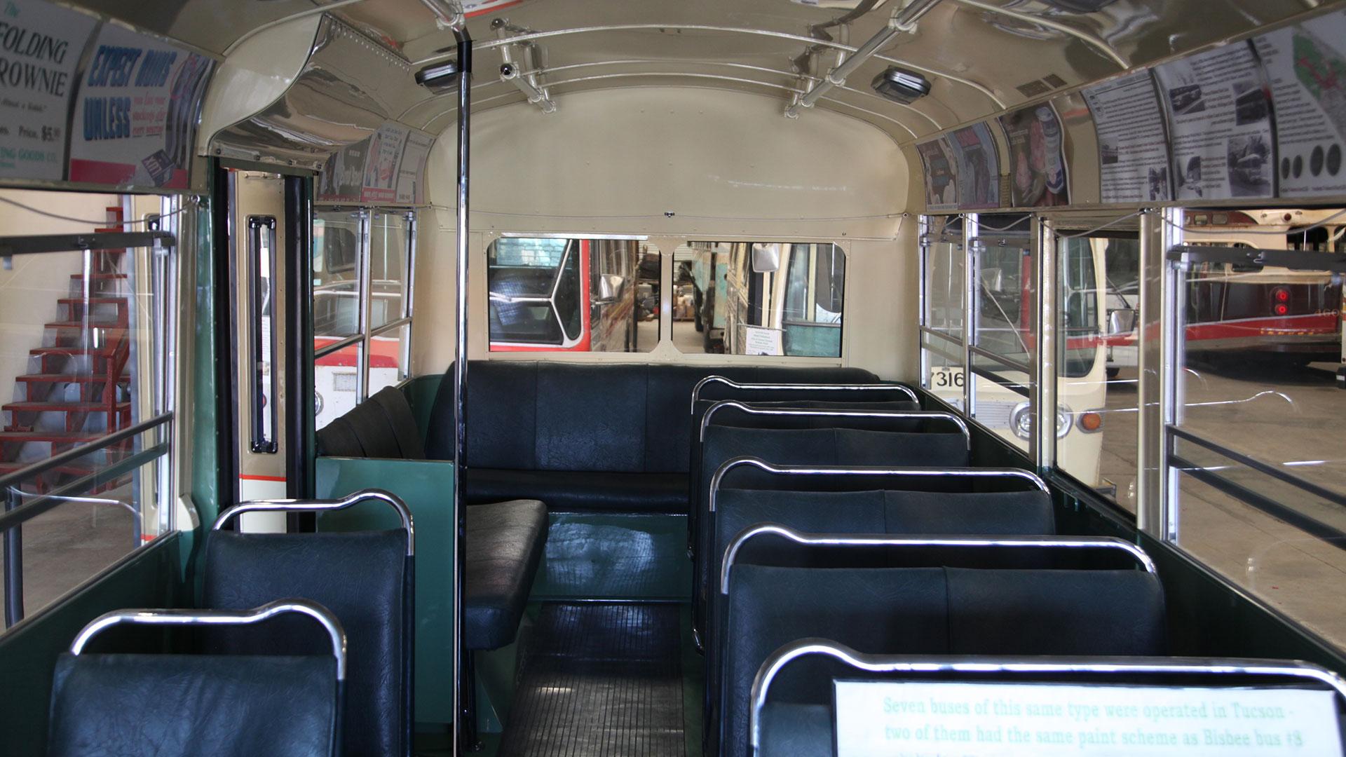 Bisbee bus new seats