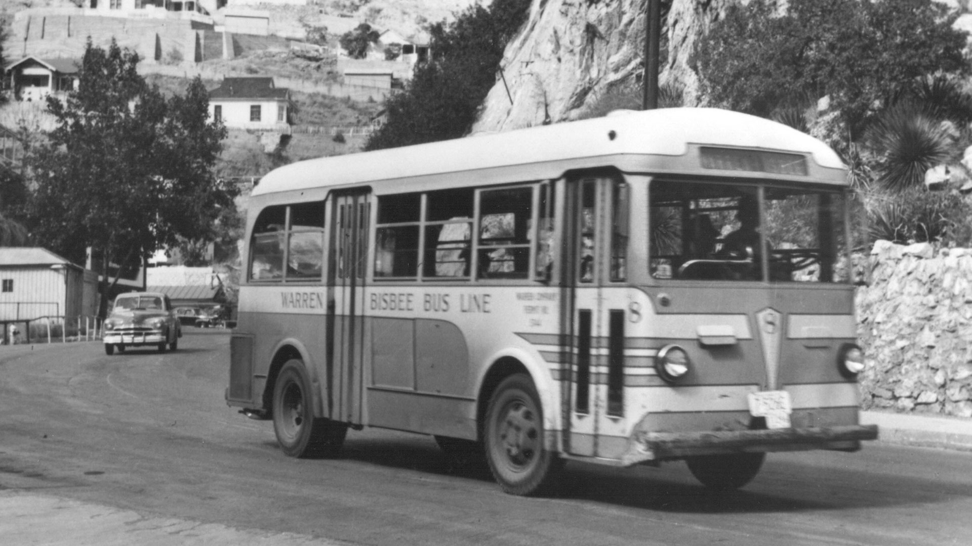 Bisbee bus historic photo