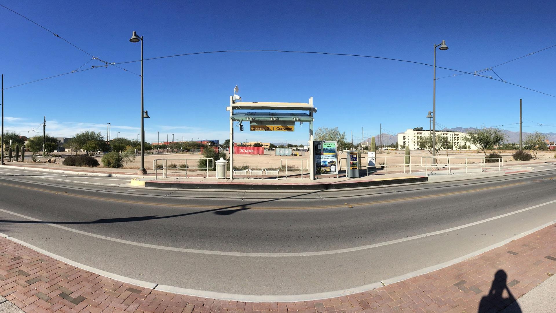 Mercado Streetcar Stop