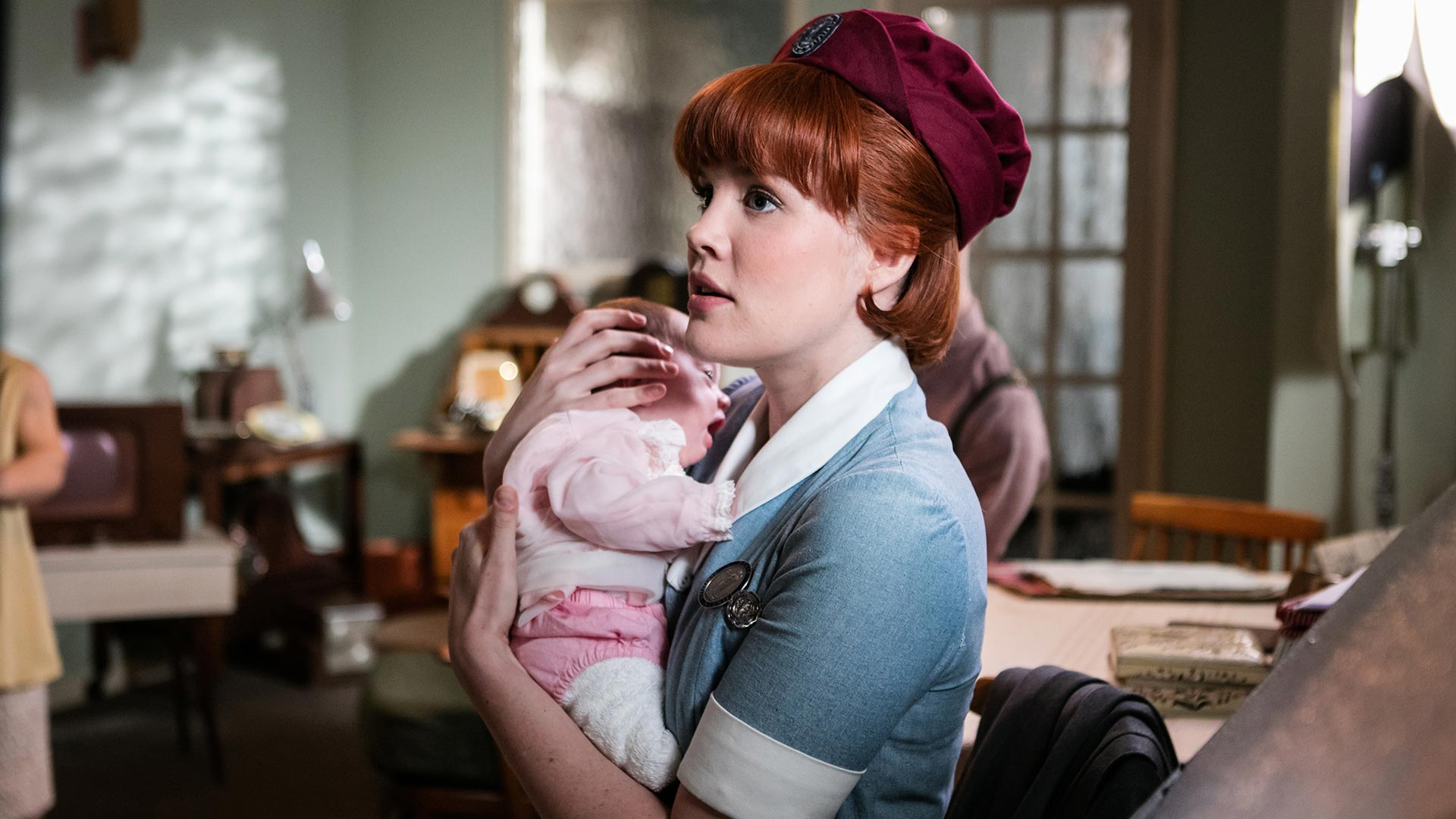 Emerald Fennell as Patsy Mount