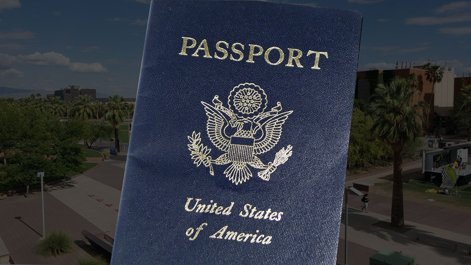 The number of passport applications has surged at the UA.