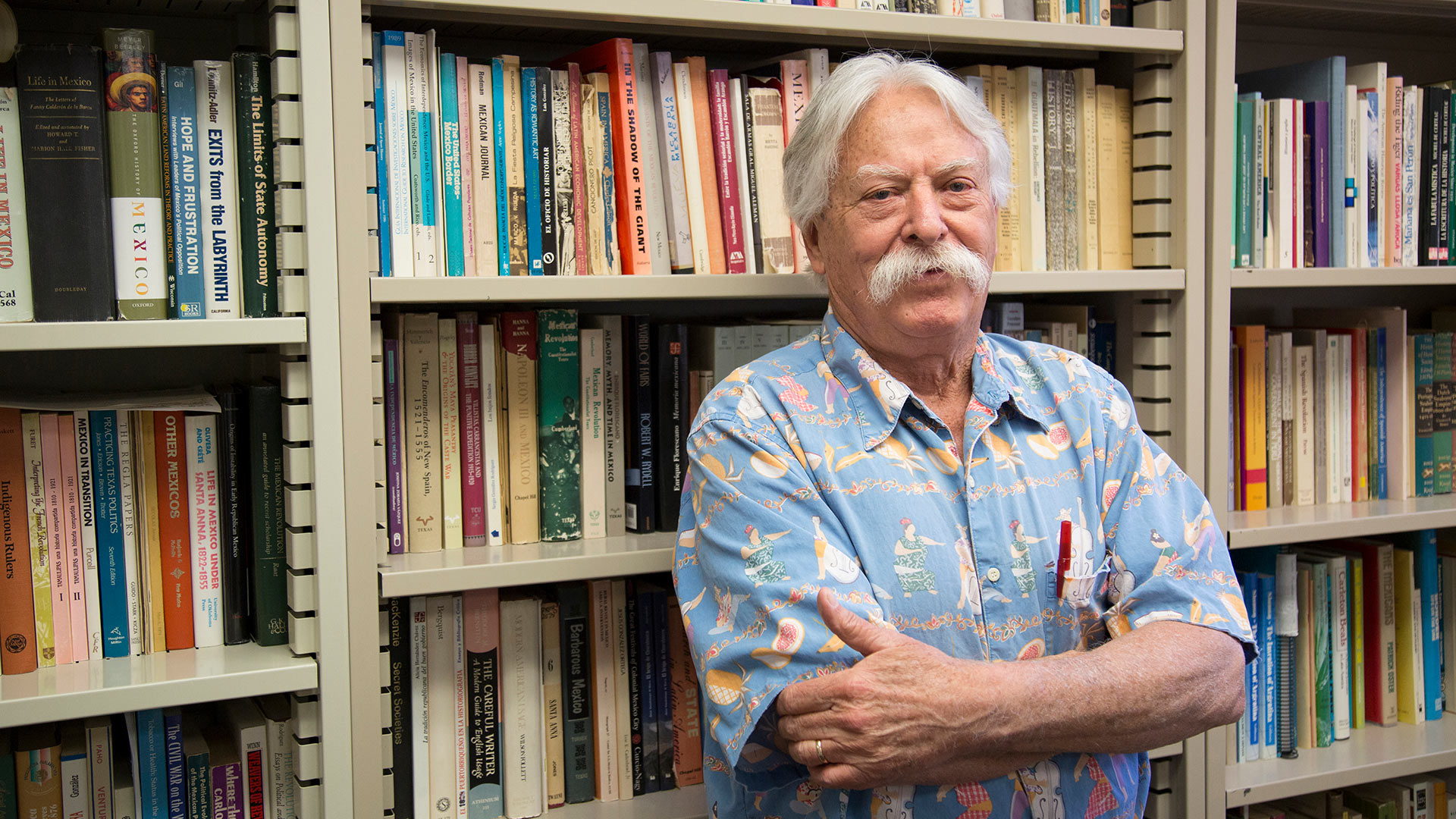 University of Arizona History Prof. William Beezley, Ph.D is the recipient of Mexico's Ohtli Medal.